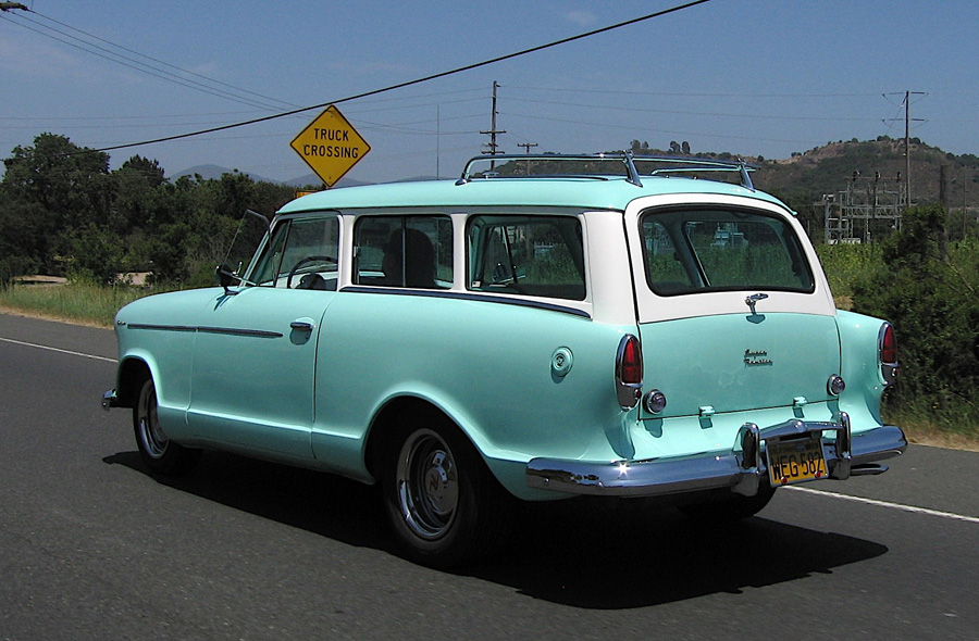 For Sale 1958 60 Rambler American Station Wagon Html Autos Post